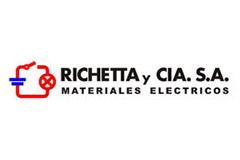 Richetta y Cia. S.R.L. · Materiales Eléctricos